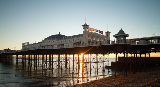 Brighton Pier - Short term holiday rentals in Brighton