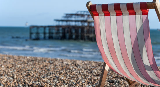 Relax in Brighton - West Pier and Beach